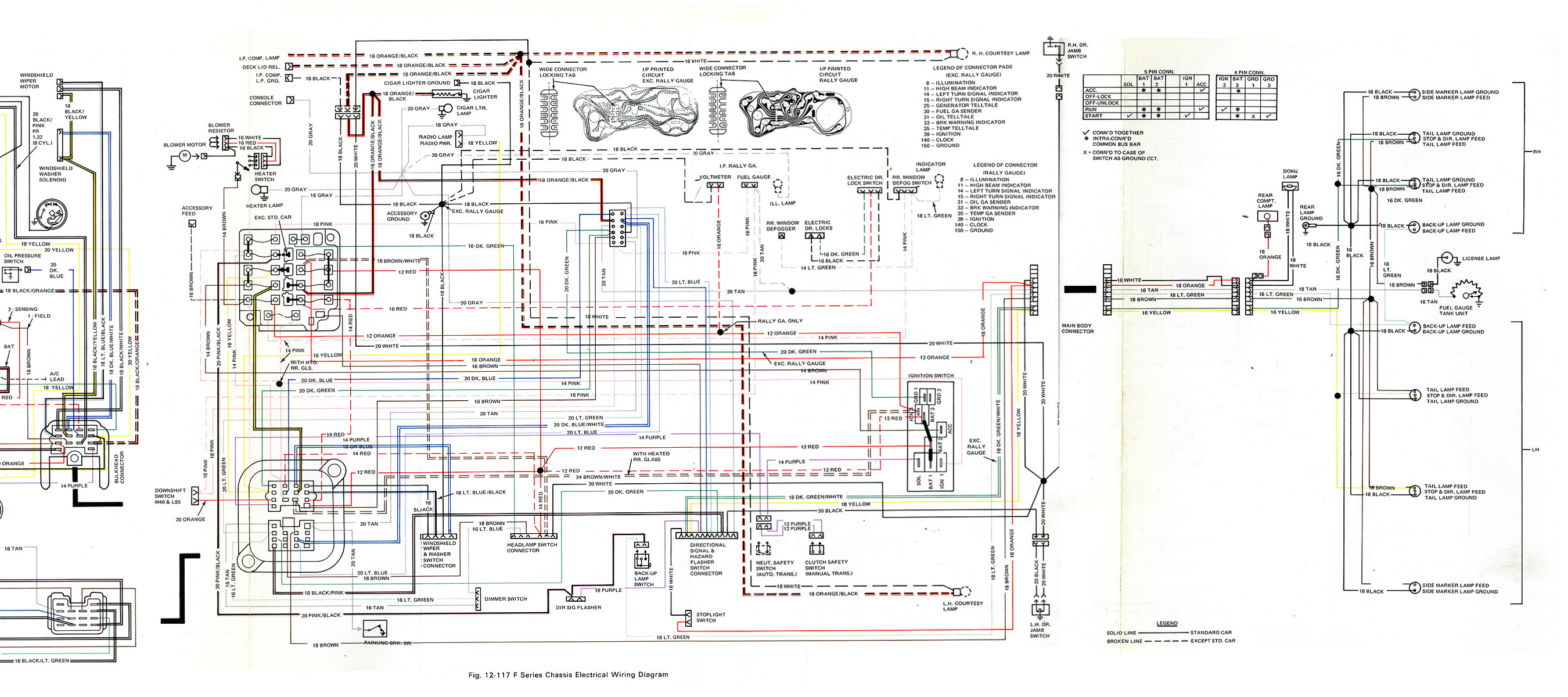 birdfire com library, document on 1973 Pontiac Firebird Wiring Diagram for trans am macho 79 193ko), electric plan at 1967 Pontiac Catalina Wiring-Diagram